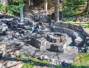 Canmore fire pit